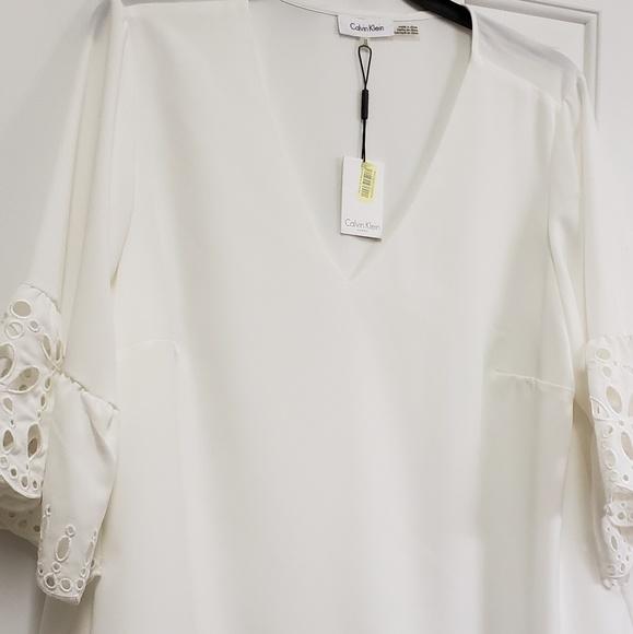 Calvin Klein Tops - Calvin Klein White Top